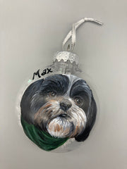 Jennifer Schroeder- Custom Painted Ornament