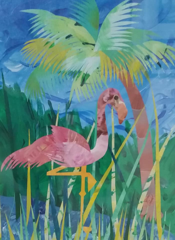 Joan Podd - Flamingo
