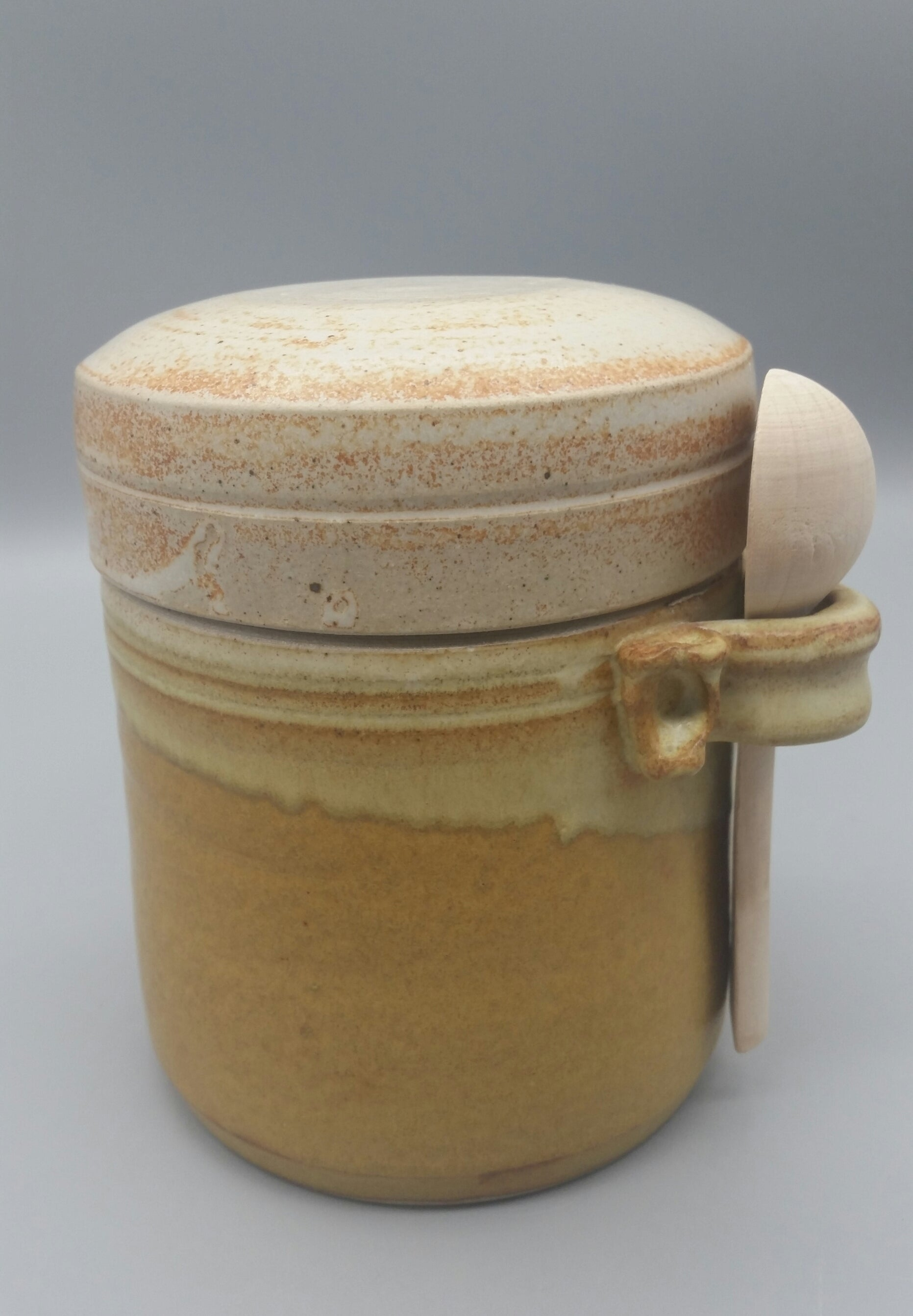 Karen Podd - Lidded Crab Jar