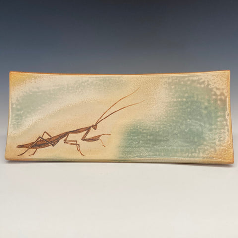 Katherine Maloney - Praying Mantis Platter