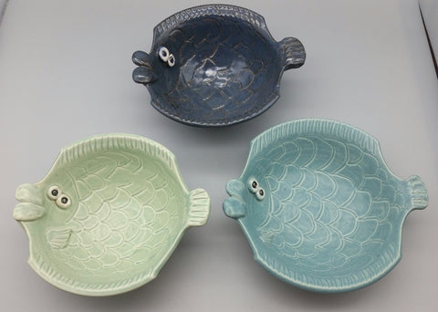 Sue Henshaw- Medium Fish Bowls