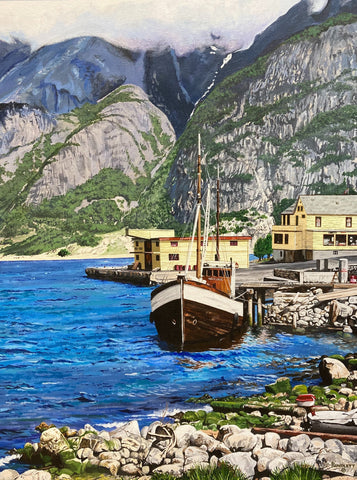 Dennis Rundlett- Norwegian Fishing Boat