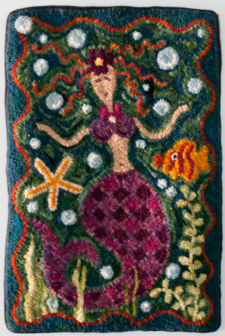 Rita Cutler - Mermaid Wall Hanging