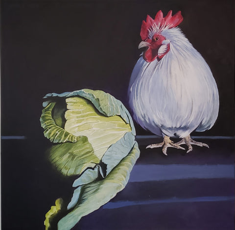 Susan Sills - Cabbage, With Clyde