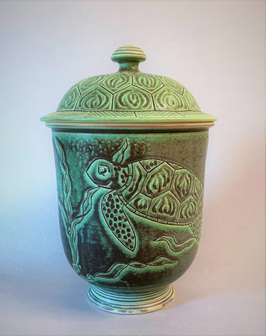 Russell Turnage - Turtle Covered Jar