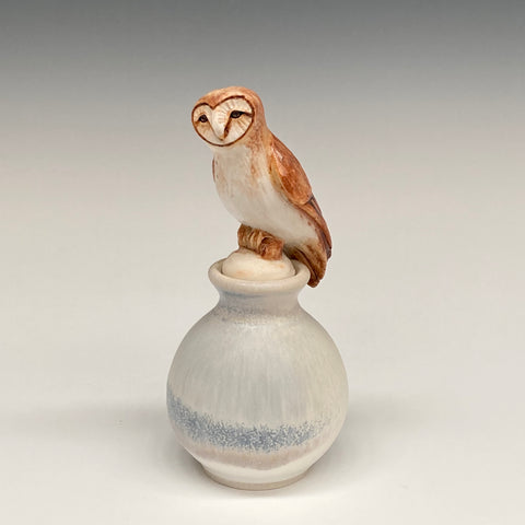 Katherine Maloney - Owl Perfume Bottle