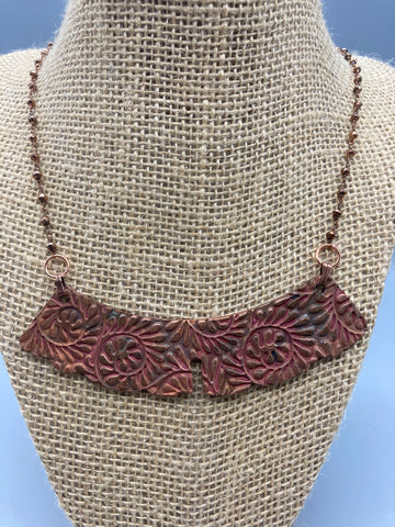 Cynthia Quesenberry- Copper Judge's Collar