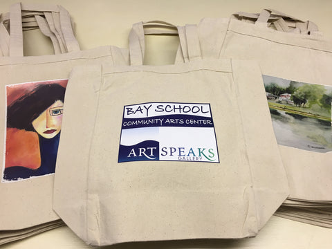 Bay School Tote Bag