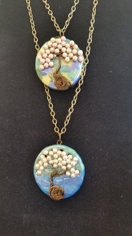 Pat Whitlow- Tree of Life Necklace