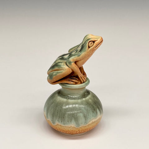 Katherine Maloney - Frog Perfume Bottle