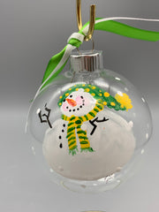 Gib Pulley- Snowman Ornament