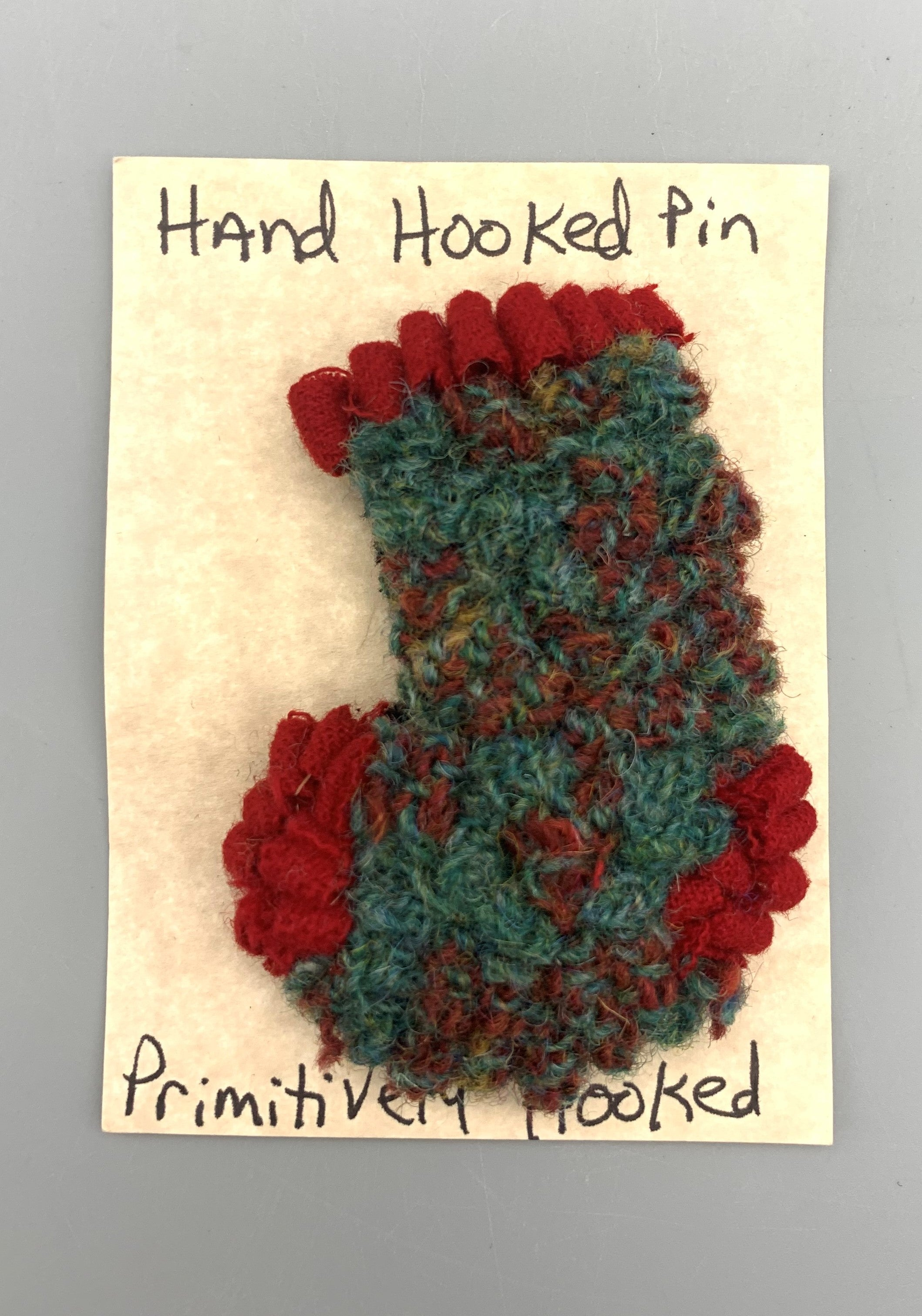 Rita Cutler - Stocking Hooked Pin