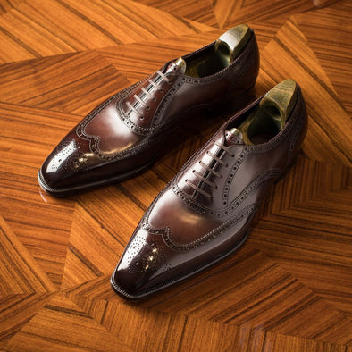 Half Brogue TAITT Dark Brown