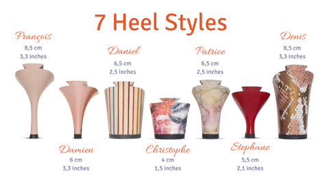Removeable Heel Style Choices