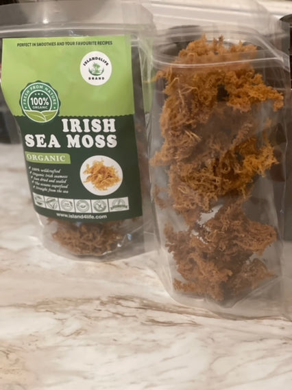 4Oz Brown Irish sea moss