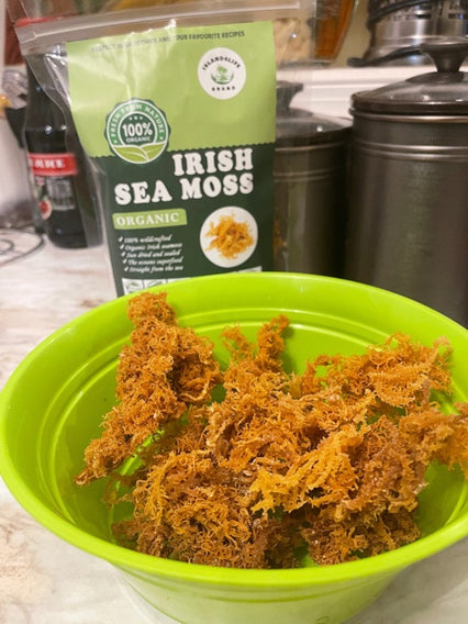 2oz SIZE Brown Sea moss