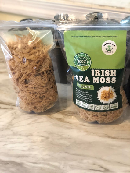 4Oz Gold Irish sea moss