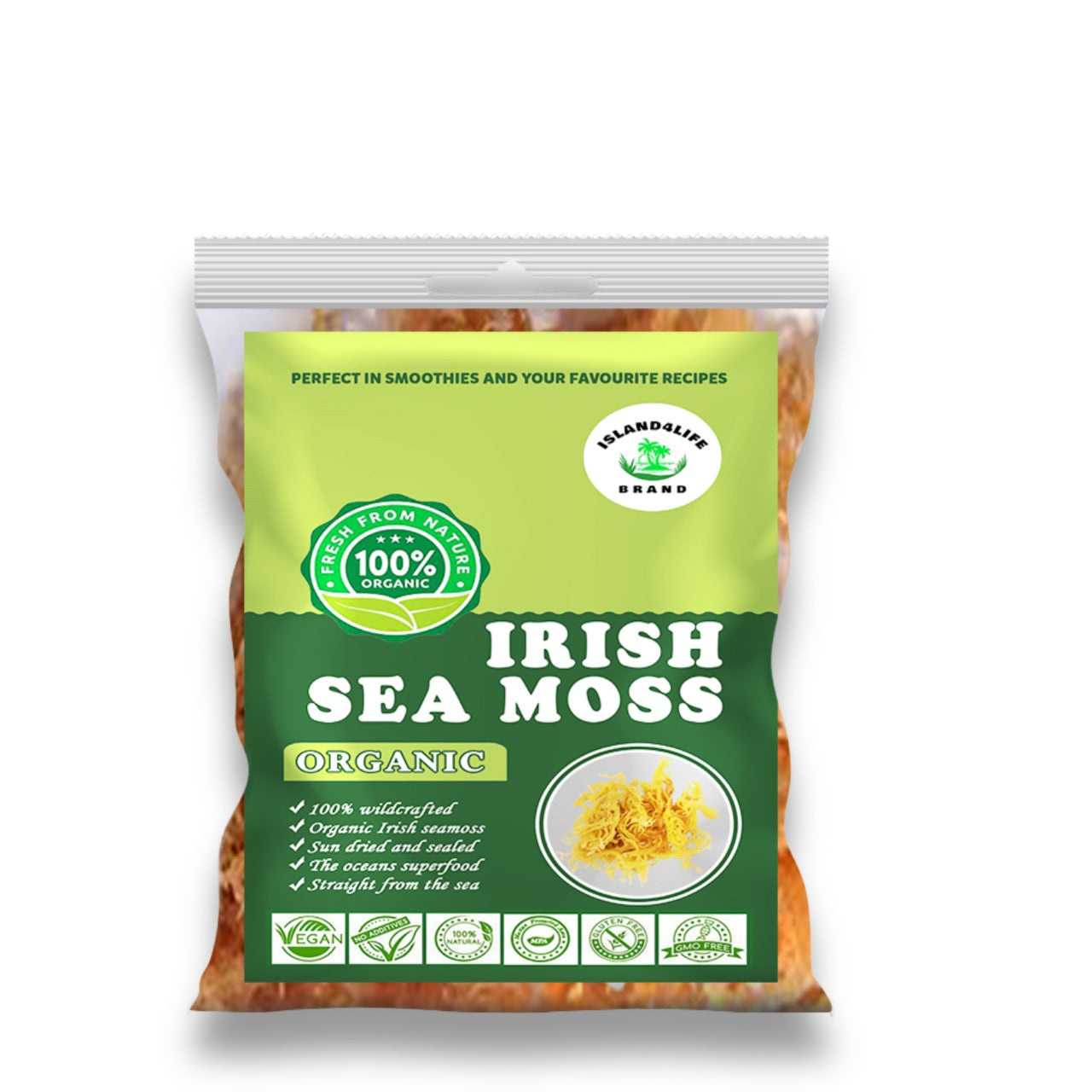 2oz SIZE Irish sea moss