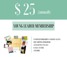 Load image into Gallery viewer, Young Leader Membership