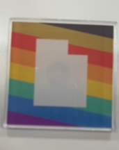 Load image into Gallery viewer, Pride, Not Prejudice Inclusive Acrylic Pins