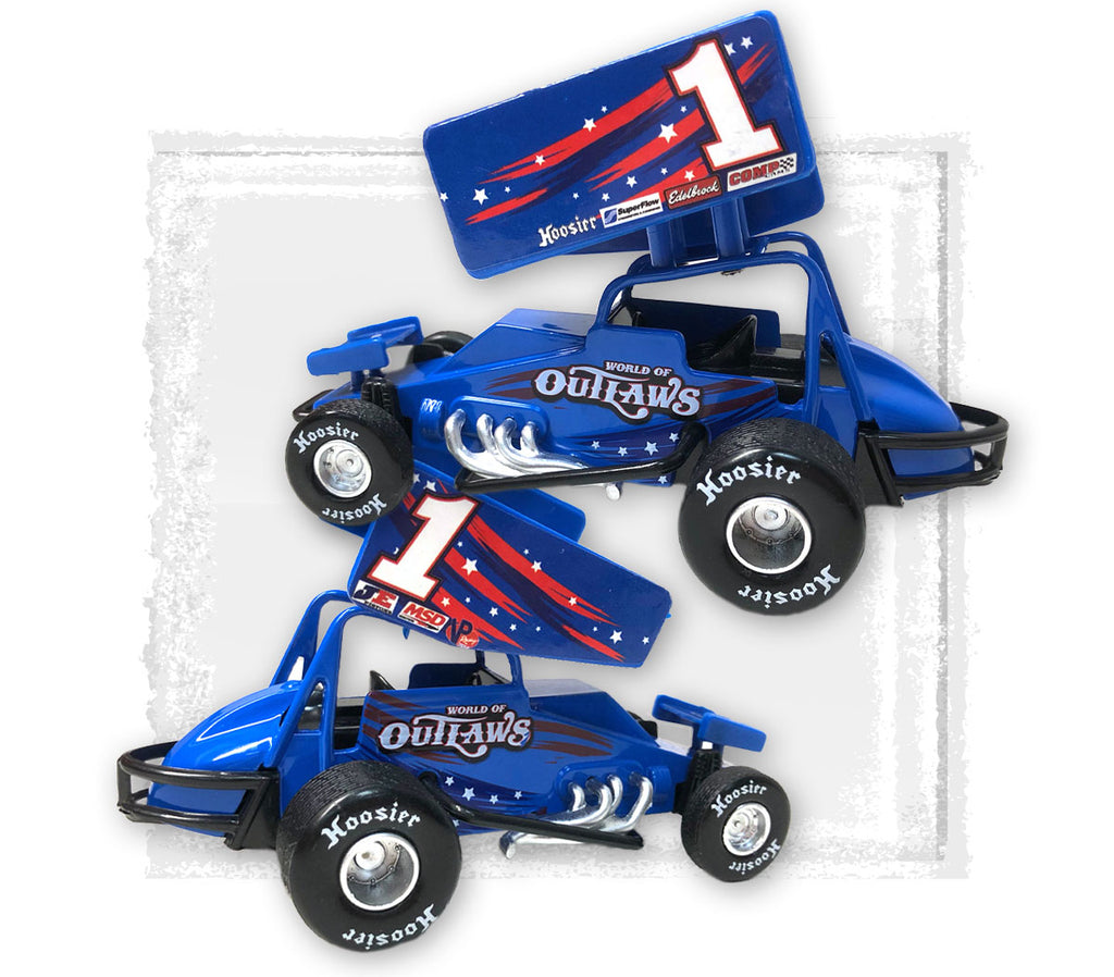Outlaws Pullback Diecast