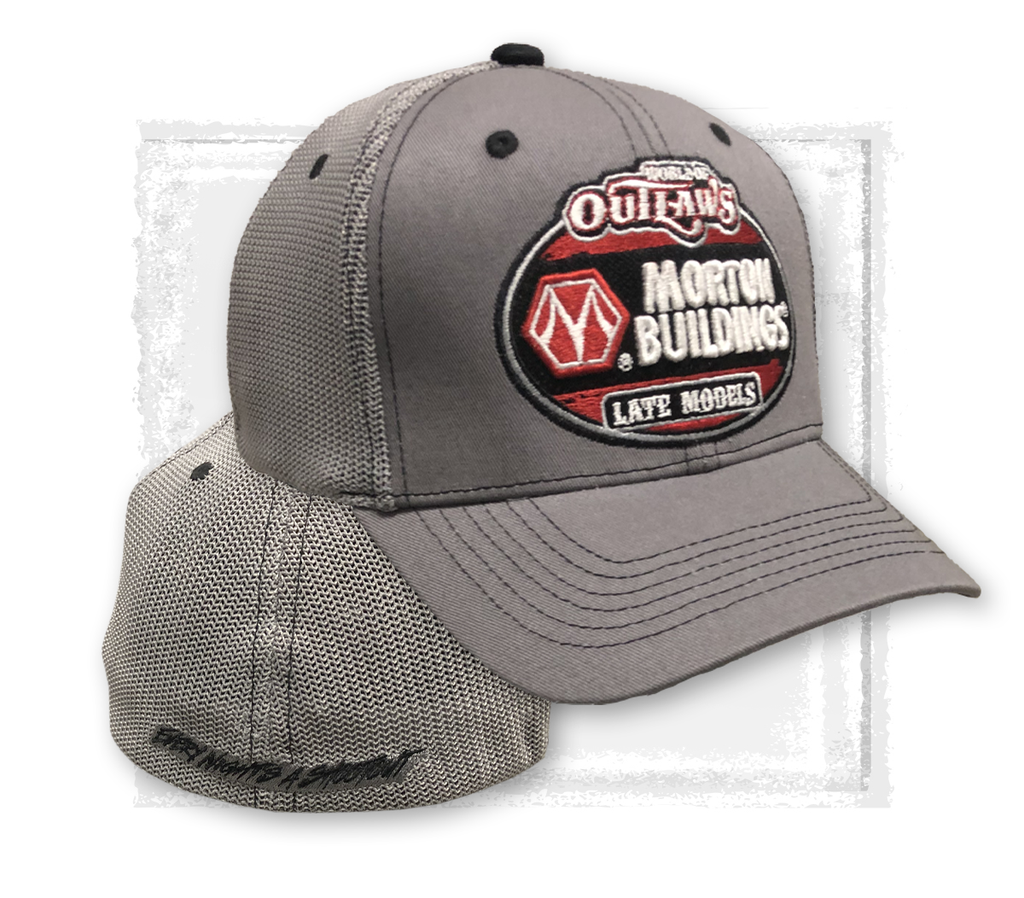 Late Models MB Grey Fitted Hat