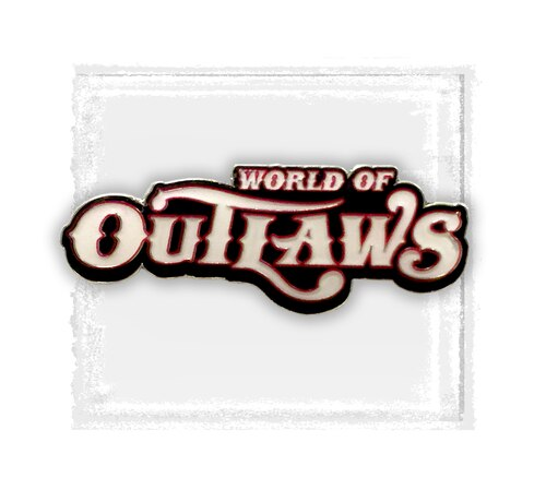 World of Outlaws Hat Pin