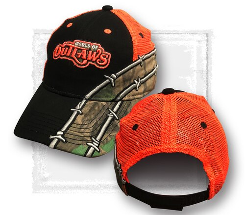 Barbwire Black Camo Hat