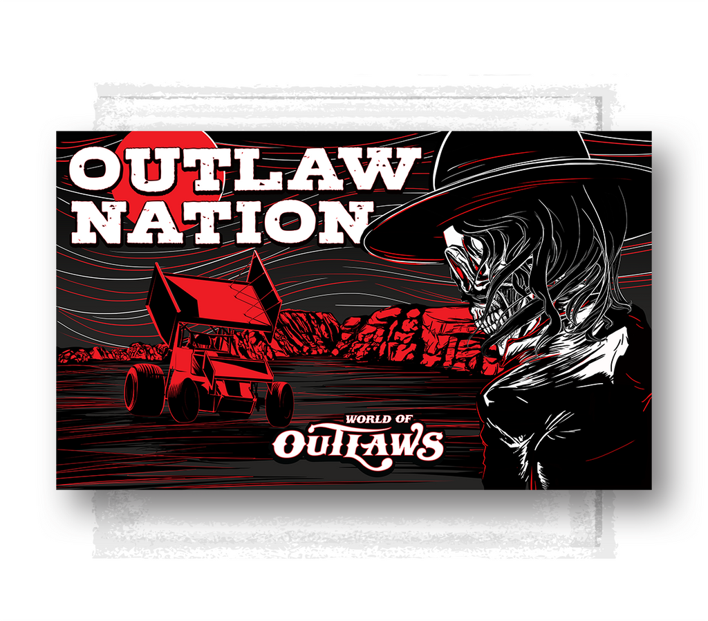 Outlaw Nation Desert Flag