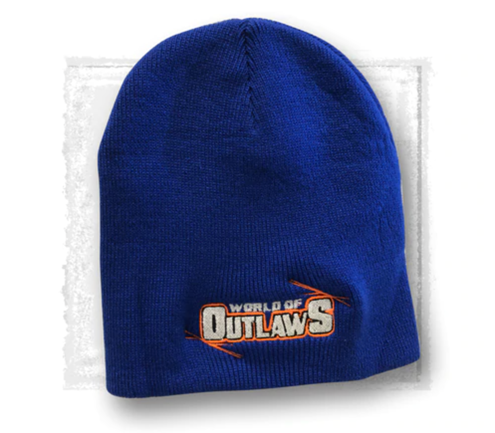 Outlaws Blue Beanie