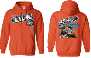Elbows Up Hoodie Orange