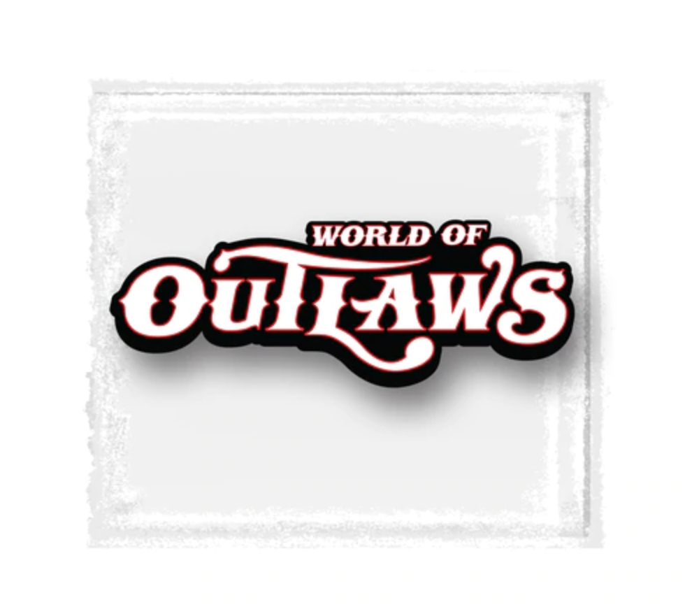 World of Outlaws Large Decal