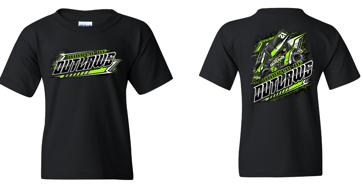 SC Youth Blackout Green T