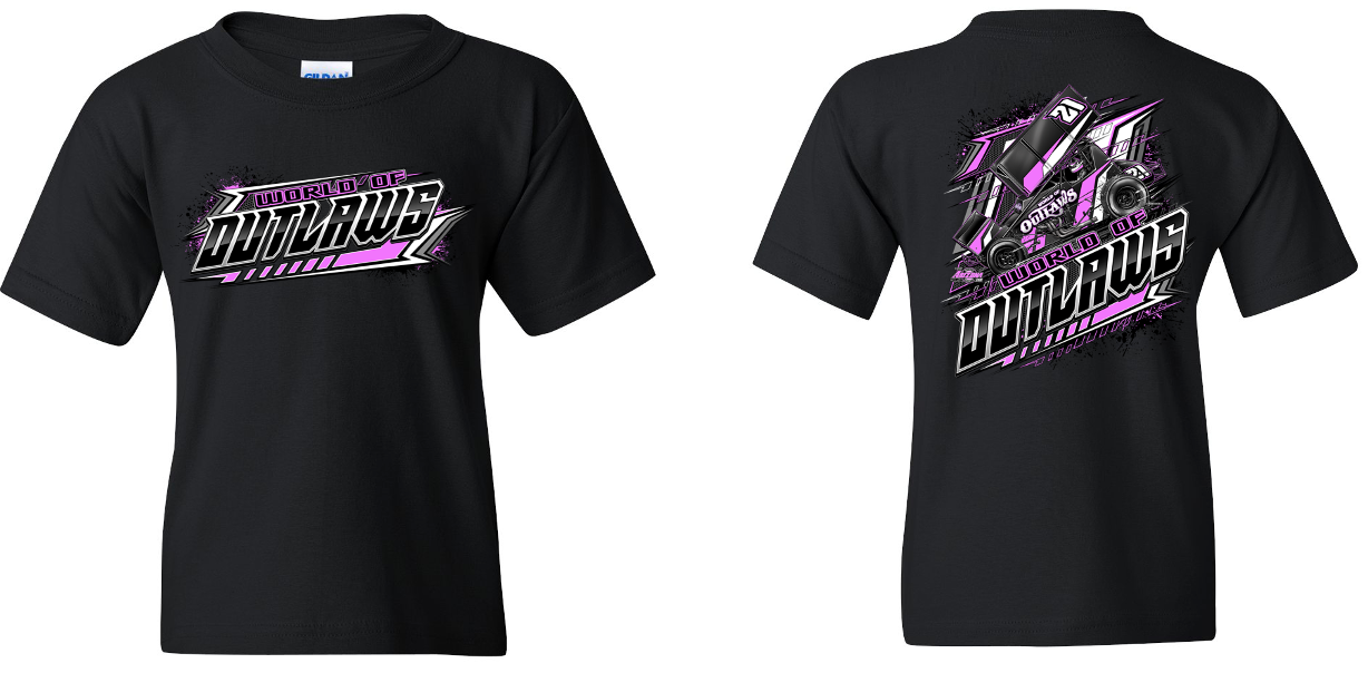 SC Youth Blackout Pink T