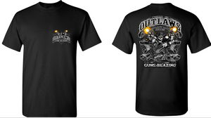 SC Guns Blazing Tee Black