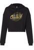 Ladies Late Model Crop Hoodie