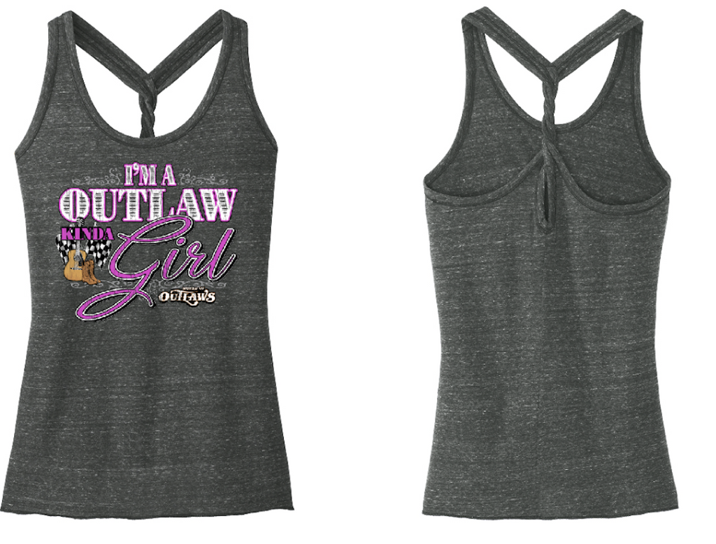 Outlaw Girl Twist Tank