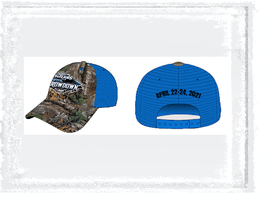 Bristol Throwdown Camo Mesh Hat