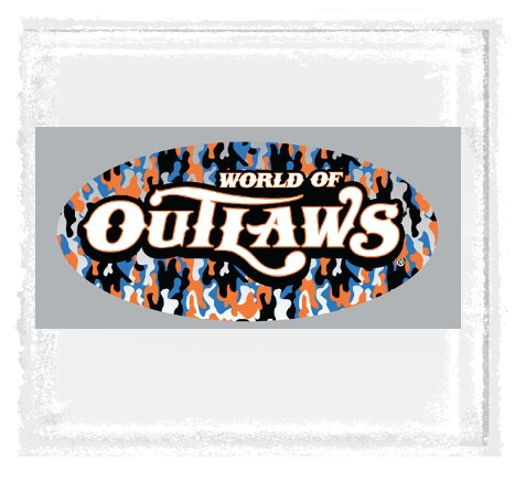 Outlaws Camo Decal