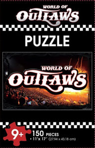 150 Piece World of Outlaws Puzzle