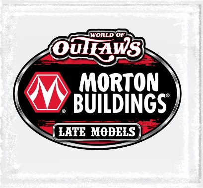 Small Late Model Series Logo Decal