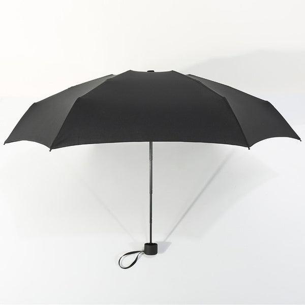 180g Small Fashion Folding Umbrella Rain Women Gift Men Mini Pocket Parasol Girls Anti-UV Waterproof Portable Travel  UMBRELLAS