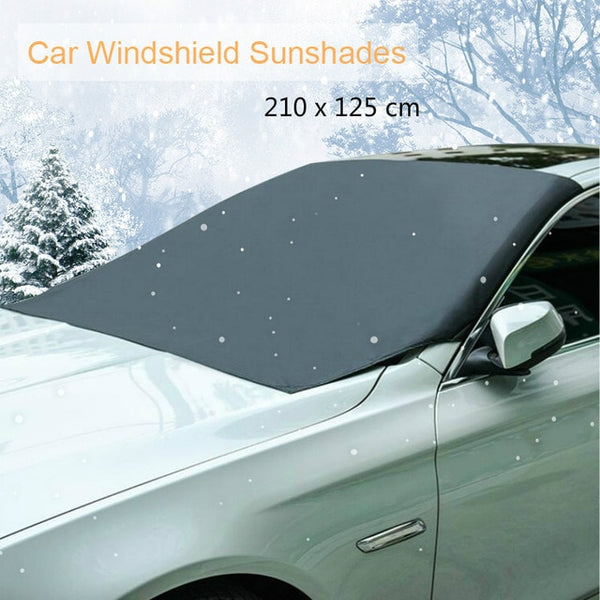 Automobile Magnetic Sunshade Cover Car Windshield Snow Sun Shade Waterproof Protector Cover Car Front Windscreen Cover