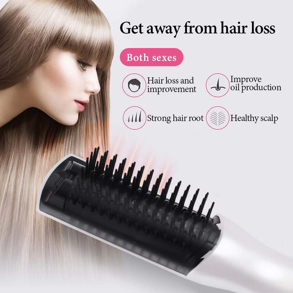Infrared Laser Hair Growth Comb Hair Care Styling Hair Loss Growth Treatment Infrared Device Massager Brush Anti-Hair Loss