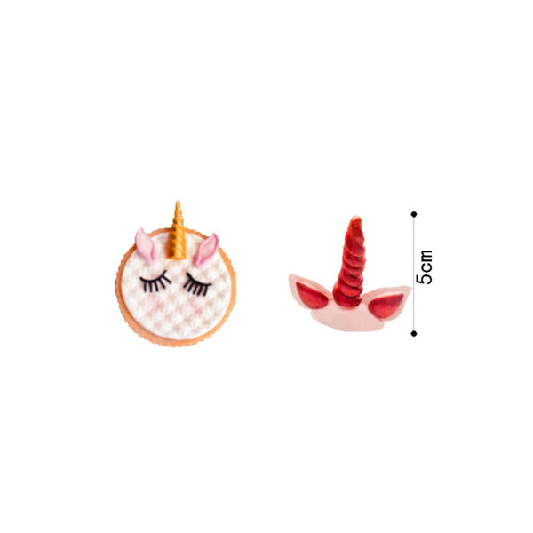 1 Pc Cake Tool Unicorn Horse Ear Silicone Mold Sugarcraft Chocolate Fondant Tool Sugarcraft Mould Cake Decoration