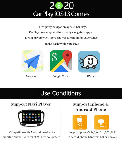 Carlinkit USB Smart car play Dongle for Android Car Navigation for Apple Carplay Module Auto Smart Phone USB Carplay Adapter