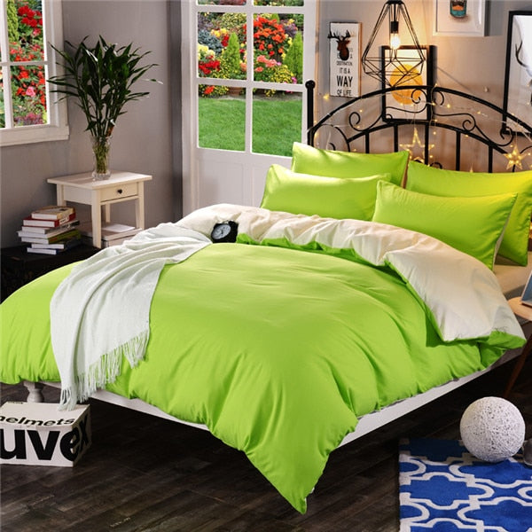 High Quality® solid color super soft encryption fabric Duvet Cover a variety of specifications to open custom