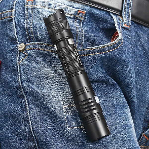 AloneFire X370 Powerful Led Flashlight Cree XPL waterproof climbing Cave Exploration spotlight Ultra Bright led torch
