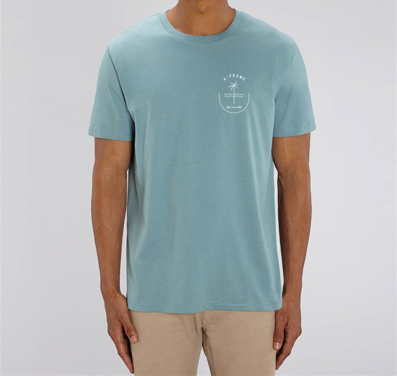 T-Shirt Stay Connected - Citadel Blue