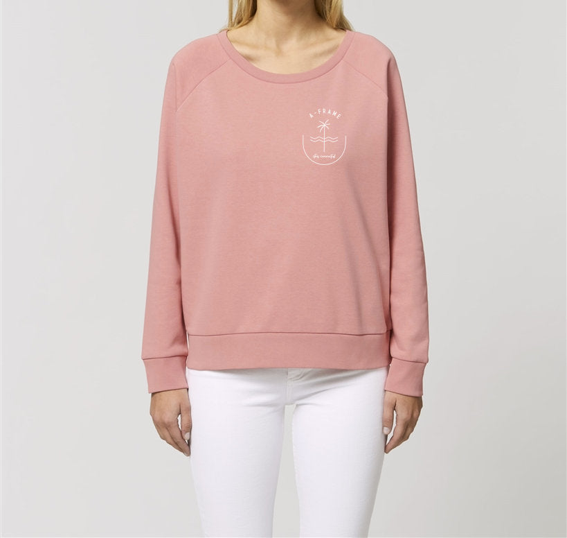 Sweater Women Stay Connected - Canyon Pink